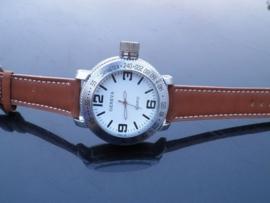 Geneva Heren Horloge! 50MM XXL! + Garantie!