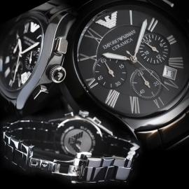 Armani AR1401 Ceramica horloge.