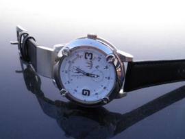 Heren Horloge + Datum! + Garantie + extra batterij!!