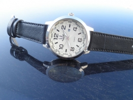 Heren Horloge + Garantie + Gratis extra batterij!!