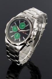 Heren Horloge + Extra gratis batterij + Garantie!