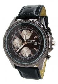 Heren Horloge - Jaar garantie - Gratis extra batterij!