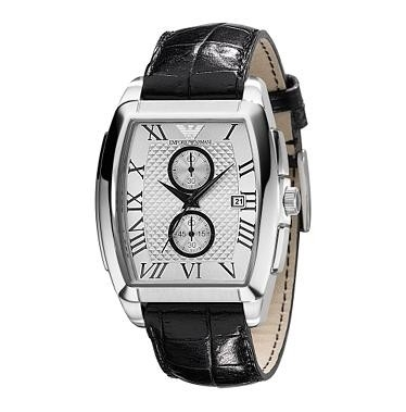 Armani Heren AR0936 chronograaf + Garantie, AVP: 345€
