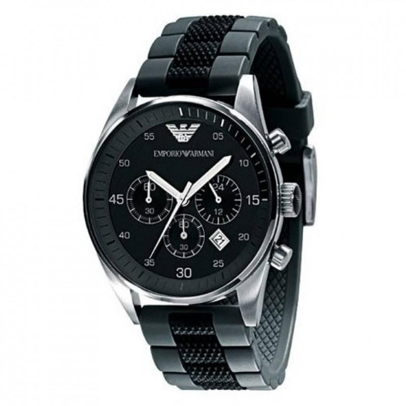 Armani Horloge AR5866 chronograaf + Garantie.