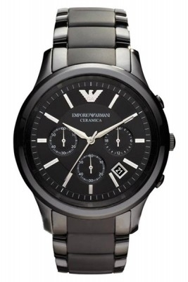 Armani heren horloge AR1452. Ceramica!