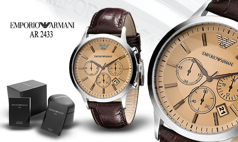 armani horloge ar2433