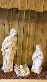 Beton kerstgroep Hl.Fam