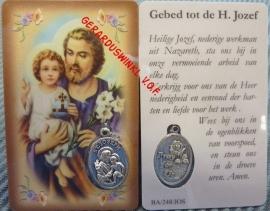 10 stuks gebedskaartje  van St. Jozef