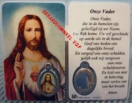 10 stuks gebedskaartje Heilig Hart