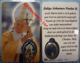 10 stuks gebedskaartje St. Johannes Paulus 11