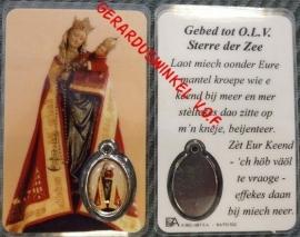 10 stuks gebedskaartje Onze Lieve Vrouwe Sterre der Zee