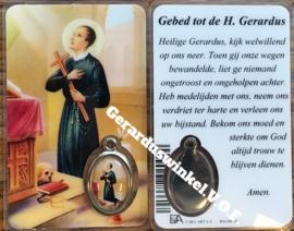 10 stuks gebedskaartje  St. Gerardus