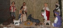Beton Kerstgroep 1meter