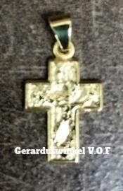 gouden kruis.