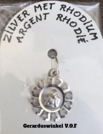 Zilveren Bescherm Engel medaille.