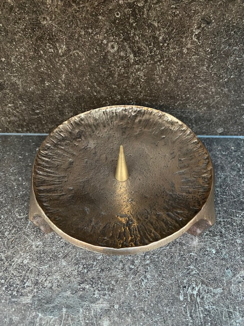 Kandelaar brons. 800546
