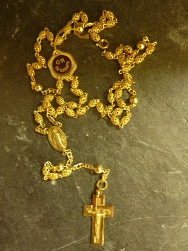 Gouden Rozenkrans 18 krt