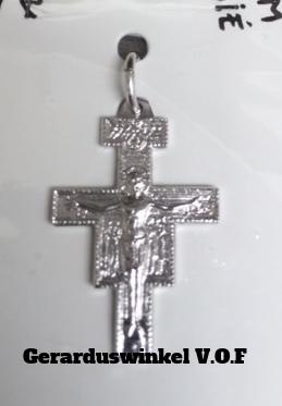 Zilveren kruisje, F32