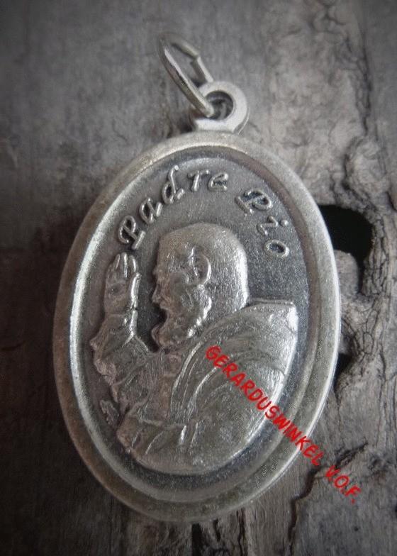 Pater Pio medaille