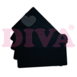 Show Cards PVC zwart 25 stuks