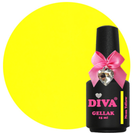 Diva Gellak Neon Yellow 15 ml