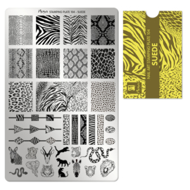Moyra Stamping Plate 104 Suede