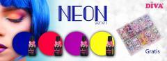 Diva Gellak Neon Serie 1 met gratis Diva Foil Box 26