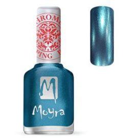 Moyra Stamping Nail Polish Chrome Blue 12ml sp26