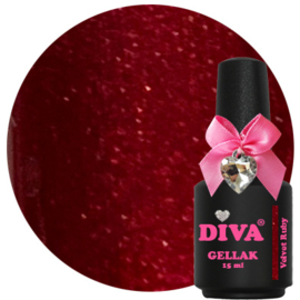 Diva Gellak Velvet Ruby 15 ml