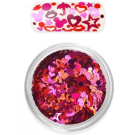 Moyra Rainbow love Glitter Mix no 2