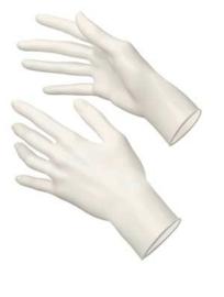WIT Handschoen nitril 100 stuks S