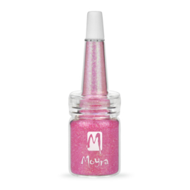 Moyra Glitter No.17 in fles Pink