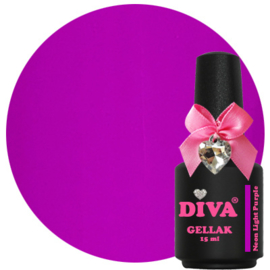 Diva Gellak Neon Light Purple 15 ml
