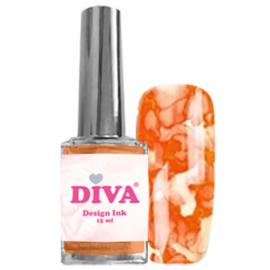 Diva Design Ink Orange