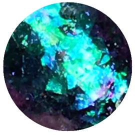Crystal Flakes Sapphire