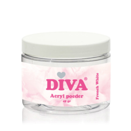 Diva Acryl Poeder French White 45 gram