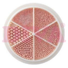 Wiel Nail beads Rosé Gold