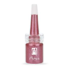 Moyra Glitter in een flesje no 2 Dark Pink