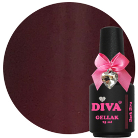 Diva Gellak Dark Diva 15 ml