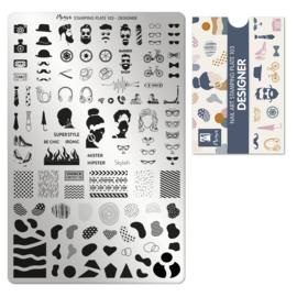Moyra Stamping Plate 103 Designer