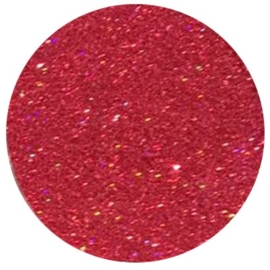 Shiny Stars Hologram Red Rose