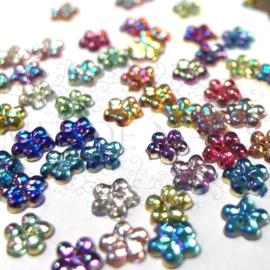 Strass stones color 6 maten in een box