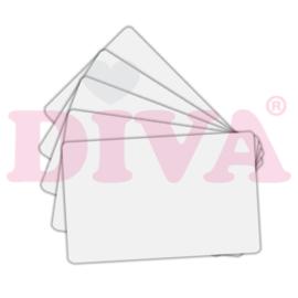 Show Cards PVC wit 25 stuks
