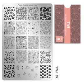 Moyra Stamping Plaat 55 Masterplan Fall