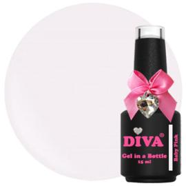 DIVA Gel in a Bottle Baby Pink 15 ml