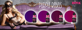 Diva Gellak Purple Rebels Collection