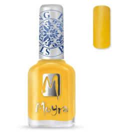 Moyra Stamping Nail Polish Yellow 12ml sp12