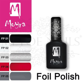 Moyra Foil Polish For Stamping  7 flesjes