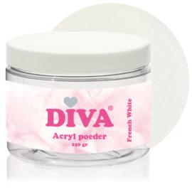 Diva Acryl Poeder French White 250 gram