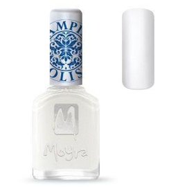 Moyra Stamping Nail Polish White 12ml sp07